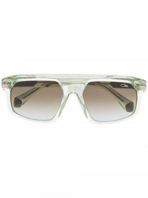 Солнцезащитные очки-авиаторы 8504 Cazal. Цвет: зеленый