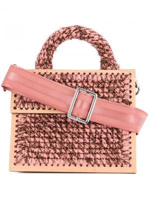 Сумка через плечо Michel Copacabana 711. Цвет: розовый и фиолетовый