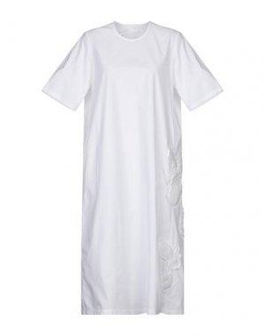 Платье до колена JNBY. Цвет: белый