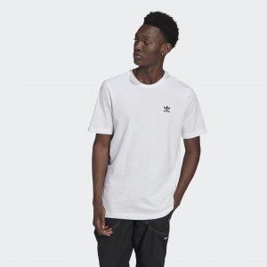 Футболка Adicolor Essentials Trefoil Originals adidas. Цвет: белый