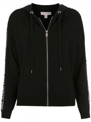 Куртка с логотипом Michael Kors. Цвет: черный