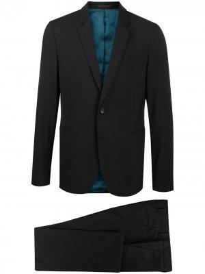 Костюм с однобортным пиджаком PS Paul Smith. Цвет: черный