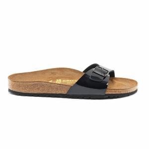 Туфли без задника MADRID BIRKENSTOCK. Цвет: черный лак