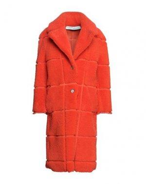 Пальто OFF-WHITE™. Цвет: оранжевый