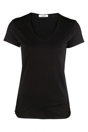 Блузка Allude. Цвет: черный