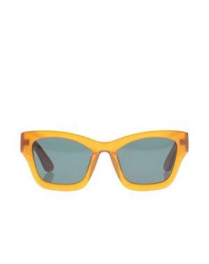 Солнечные очки HAN KJØBENHAVN. Цвет: верблюжий