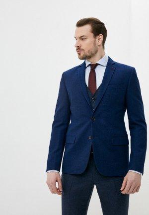 Пиджак Absolutex. Цвет: синий