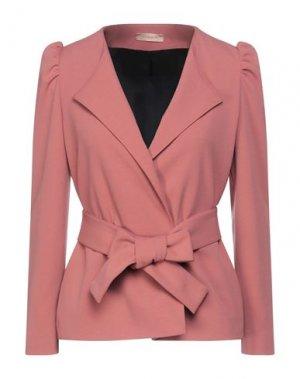 Пиджак MAESTA. Цвет: пудровый