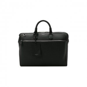 Кожаная сумка для ноутбука Serapian. Цвет: синий