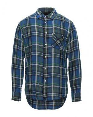 Pубашка RAG & BONE. Цвет: синий