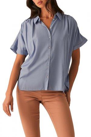 Рубашка Love Republic. Цвет: 41, голубой