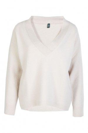 Бежевый пуловер Eleventy