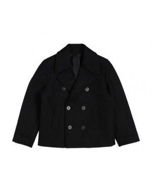 Пальто NEIL BARRETT. Цвет: черный