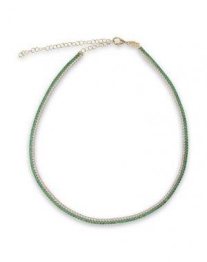 Ожерелье AAMAYA by PRIYANKA. Цвет: зеленый