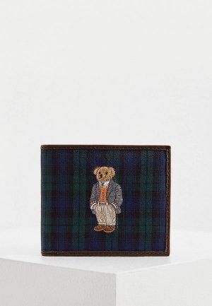 Кошелек Polo Ralph Lauren. Цвет: разноцветный
