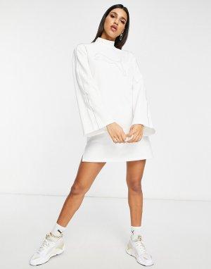 Белое платье PUMA Icons 2.0 Fashion-Белый
