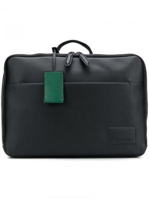 Сумка для ноутбука Calvin Klein. Цвет: черный
