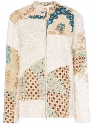 Куртка-бомбер Classic Victorian в стилистике пэчворк By Walid
