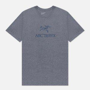 Мужская футболка ArcWord SS Arcteryx. Цвет: серый