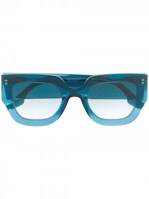 Солнцезащитные очки VB606S Victoria Beckham. Цвет: синий