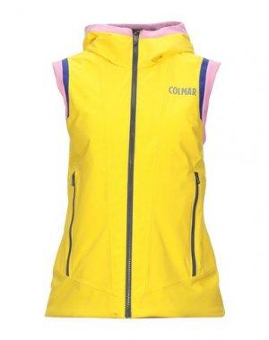 Куртка COLMAR. Цвет: желтый