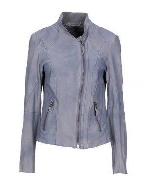 Куртка FREAKY NATION. Цвет: грифельно-синий