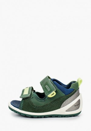 Сандалии Ecco BIOM LITE INFANTS. Цвет: зеленый
