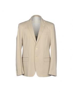 Пиджак SIMON PEET. Цвет: бежевый