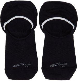 Three-Pack Navy Botanic Sockless Socks Ermenegildo Zegna. Цвет: 402 midblue