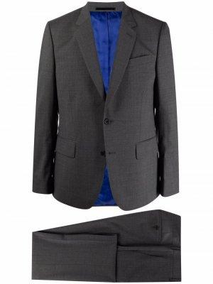 Костюм Soho с однобортным пиджаком PAUL SMITH. Цвет: серый