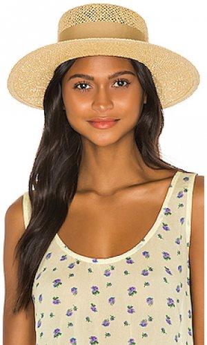 Шляпа dara Brixton. Цвет: nude