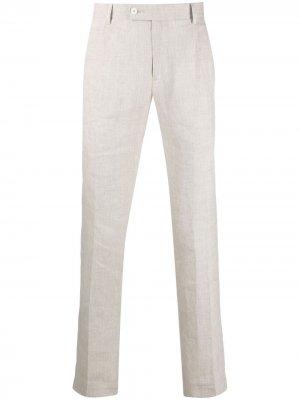 Прямые брюки Daniele Alessandrini. Цвет: нейтральные цвета