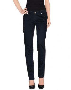 Повседневные брюки REFRIGUE. Цвет: темно-синий