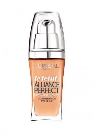 Тональный крем LOreal Paris L'Oreal Alliance Perfect, Совершенное слияние, выравнивающий и увлажняющий, оттенок N2, 30 мл. Цвет: бежевый