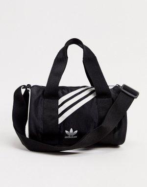 Черная небольшая сумка дафл -Черный adidas Originals