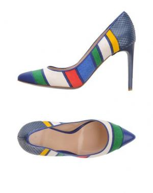 Туфли DIBRERA BY PAOLO ZANOLI. Цвет: синий