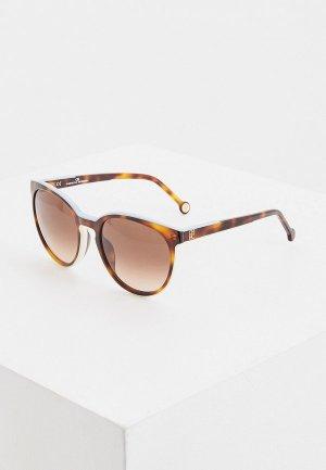 Очки солнцезащитные Carolina Herrera 793-T66. Цвет: коричневый