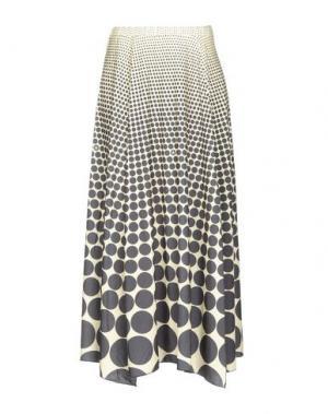 Длинная юбка AGOGOA. Цвет: светло-желтый