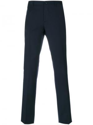 Классические брюки Etro. Цвет: синий