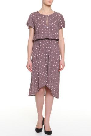 Платье BMBL VIRSAVIYA. Цвет: бежевый