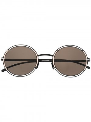 Солнцезащитные очки Giselle Mykita. Цвет: черный