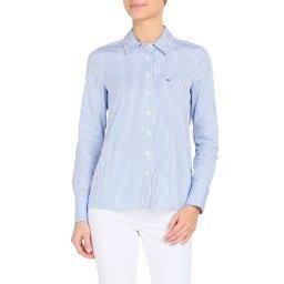 Рубашка WW0WW26035 голубой TOMMY HILFIGER