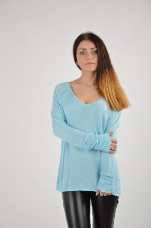Пуловер Mexx MELROSE. Цвет: голубой