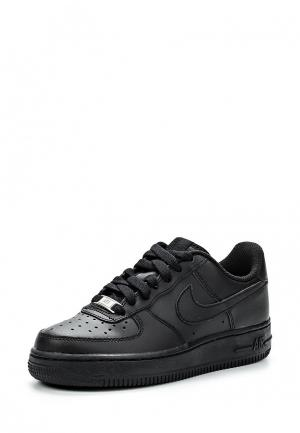 Кеды Nike Boys Air Force 1 (GS) Shoe. Цвет: черный