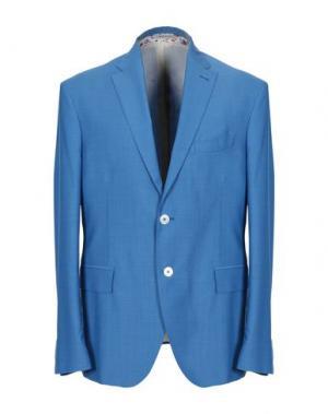 Пиджак ANGELO NARDELLI. Цвет: пастельно-синий