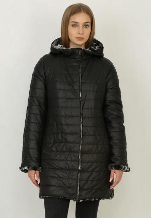Куртка утепленная Trifo. Цвет: черный