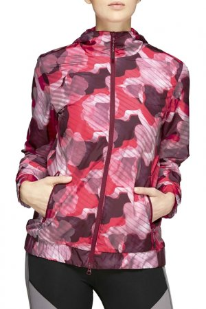 Ветровка W WVN GPX FZ JKT Asics. Цвет: розовый