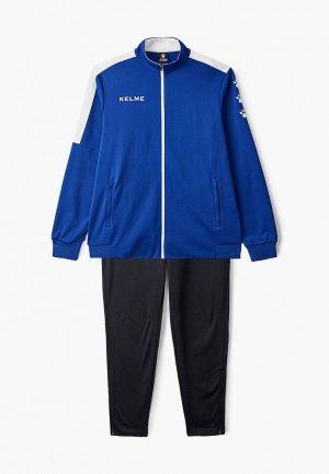 Костюм спортивный Kelme Tracksuits (Full zipper). Цвет: разноцветный