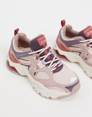 Кроссовки Dlites 3.0 лилового цвета Air-Фиолетовый Skechers