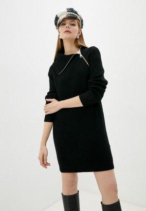 Платье Liu Jo WHITE. Цвет: черный